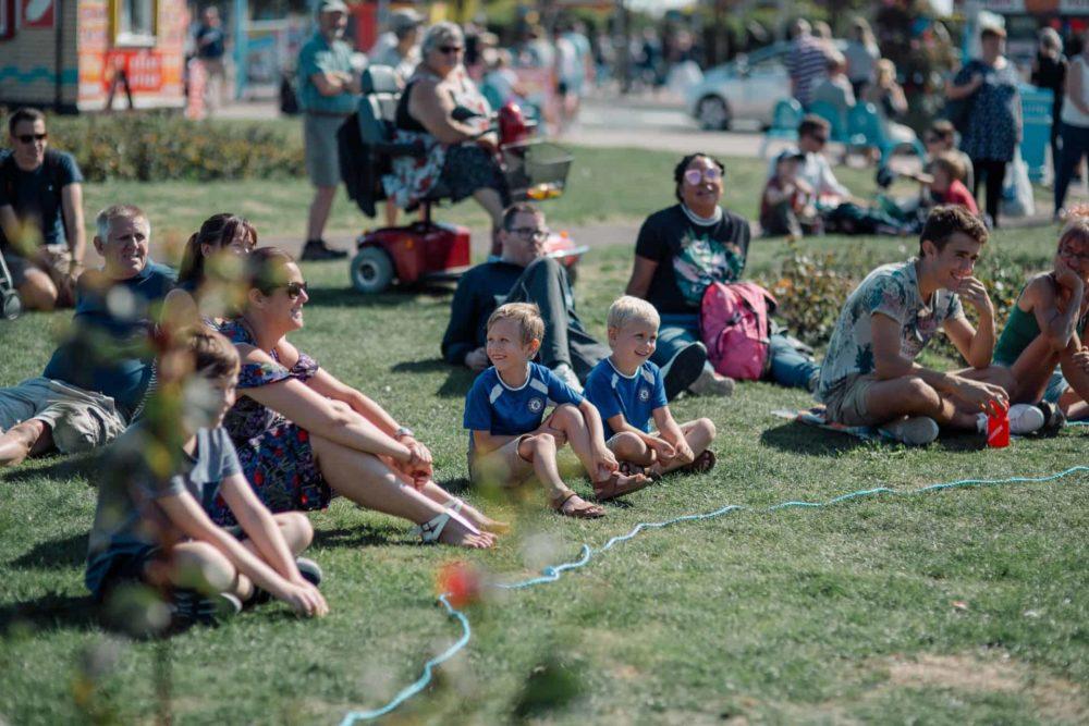 SO Festival 2018 audience, arts festival, culture festival, Skegness, Mablethorpe, Lincolnshire