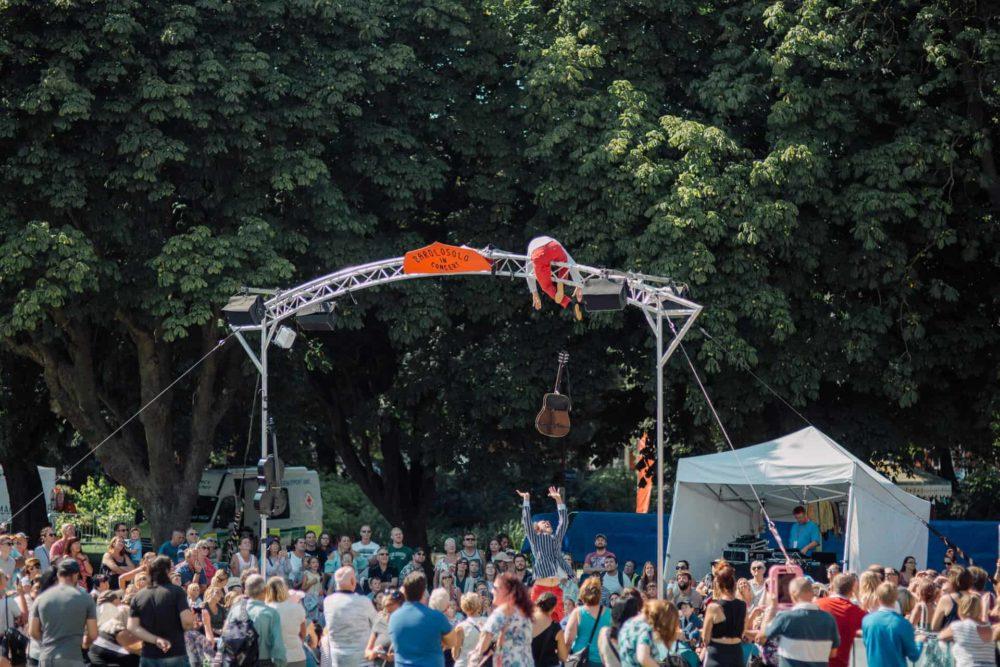 Ile O, Cie Barolosolo, SO Festival 2018, Skegness, Lincolnshire