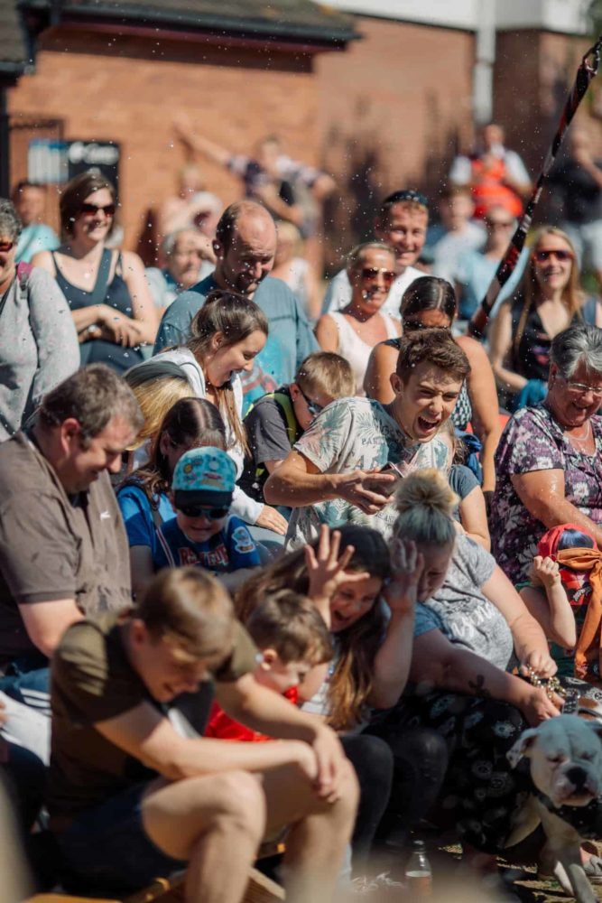 SO Festival 2018 audience, arts festival, culture festival, Skegness, Mablethorpe, Lincolnshire