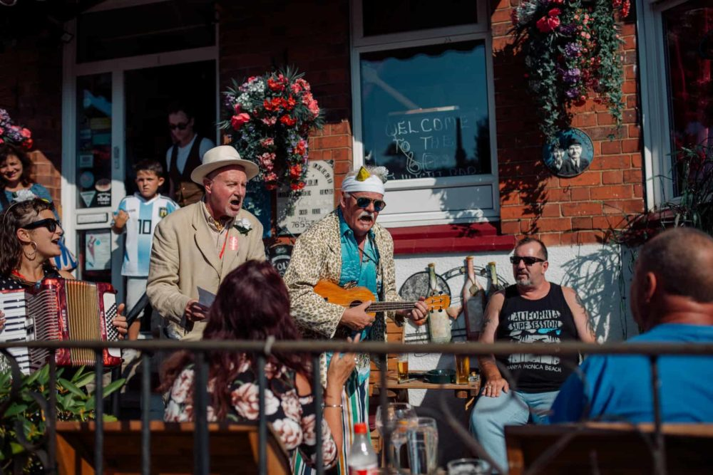 The SOuvenir Walk - Desperate Men, SO Festival 2018, Skegness, Lincolnshire