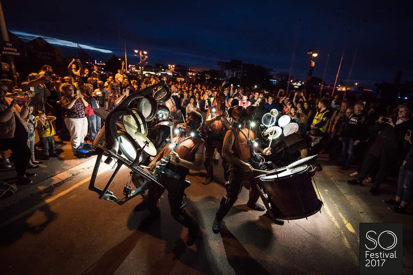 Clash of Drums - Les Commandos Percu & Deabru Beltak SO Festival 2017