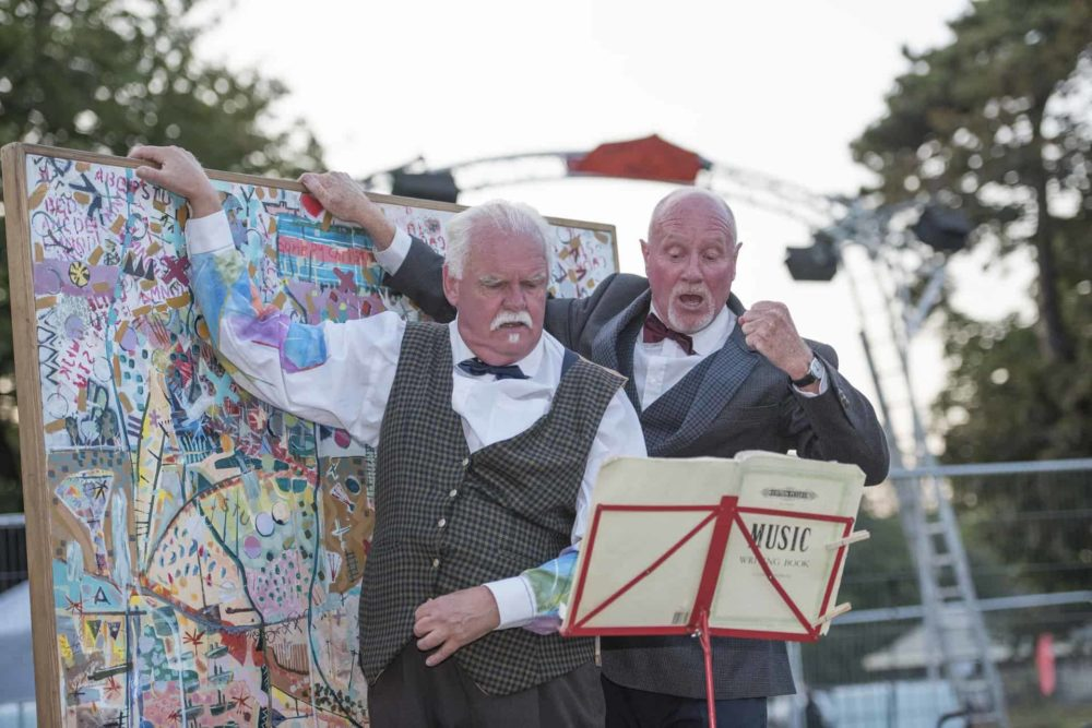 Slapstick & Slaughter - Desperate Men SO Festival 2018, Skegness, Lincolnshire