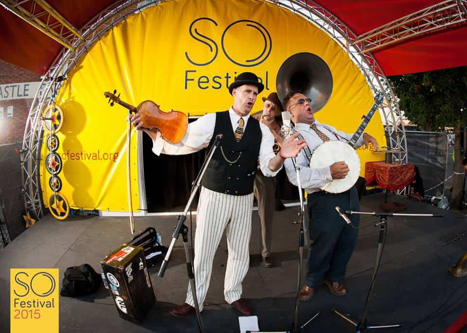 Sheesham, Lotus and Son performed at SO Festival in 2015