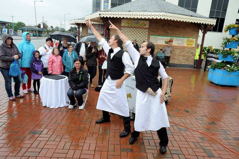 Comedy Waiters by Reckless Invention - SO Festival 2013