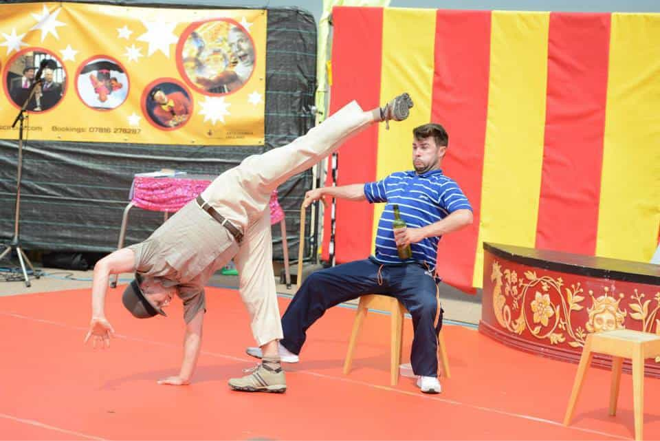 2Faced Dance Company perform Two Old Men at SO Festival 2014